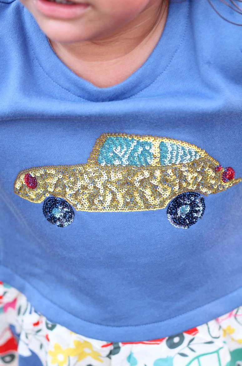 Cutest sequin dress for little girls!