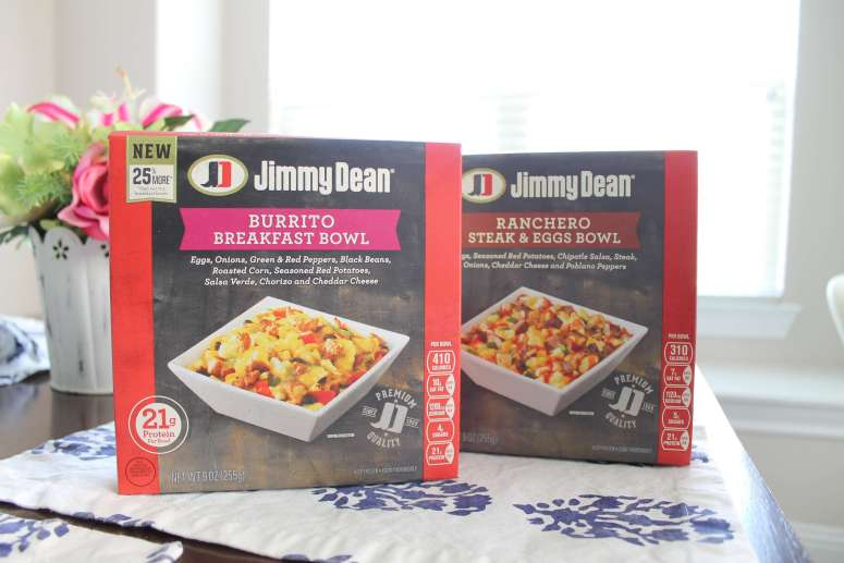 7 ways to be a better stay at home mom. Great tips we all know but need to be reminded of, including eating! These Jimmy Dean breakfast bowls are delicious and easy! #ad #jimmydeanbowls #sahm