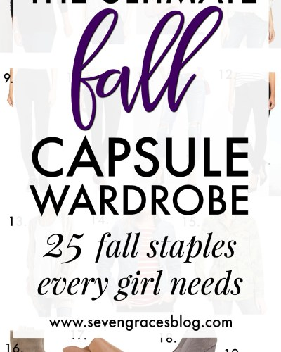 25 Fall Basics Every Girl Needs :: $600 Nordstrom Giveaway
