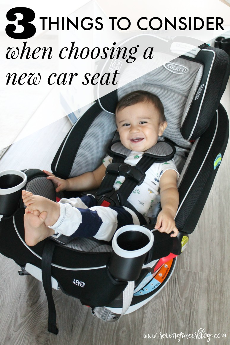 What to look for when choosing a new car seat & three big reasons why we went with the Graco 4Ever All-in-1: quality, safety, & affordability. Sponsored by Graco. #carseat #babyitems #bestbabyproducts