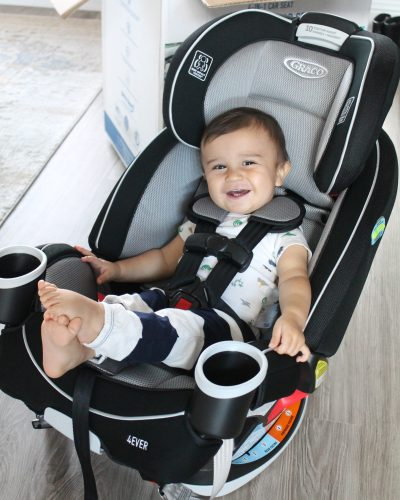 Moving on Up: Graco 4Ever All-in-1 Convertible Car Seat Review