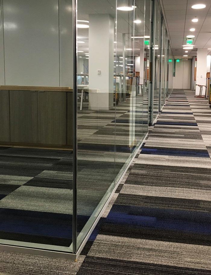 Pareti modulari per uffici e laboratori  Seven Metal
