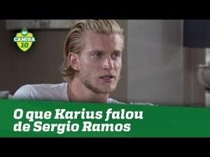 Não se desculpou? OLHA o que Karius falou de Sergio Ramos!