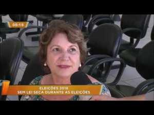 Lei Seca Eleições 2018