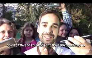 Conheça mais de Eduardo Leite novo governador do RS