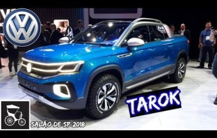 Nova Volkswagen Tarok – Picape conceito VW no salão do automóvel São Paulo 2018