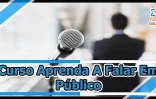 Curso Aprenda a Falar em Público do Cursos 24 Horas – Quer aprender mais sobre o que é e qual salário ?