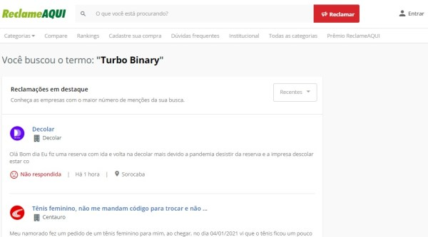 turbo binary robô salário mágico