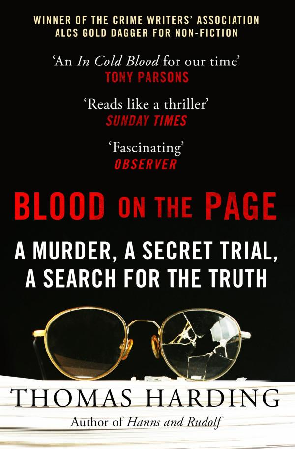Blood on the Page by Thomas Harding