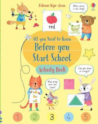 Wipe-Clean All You Need to Know Before You Start School Acti by Holly Bathie