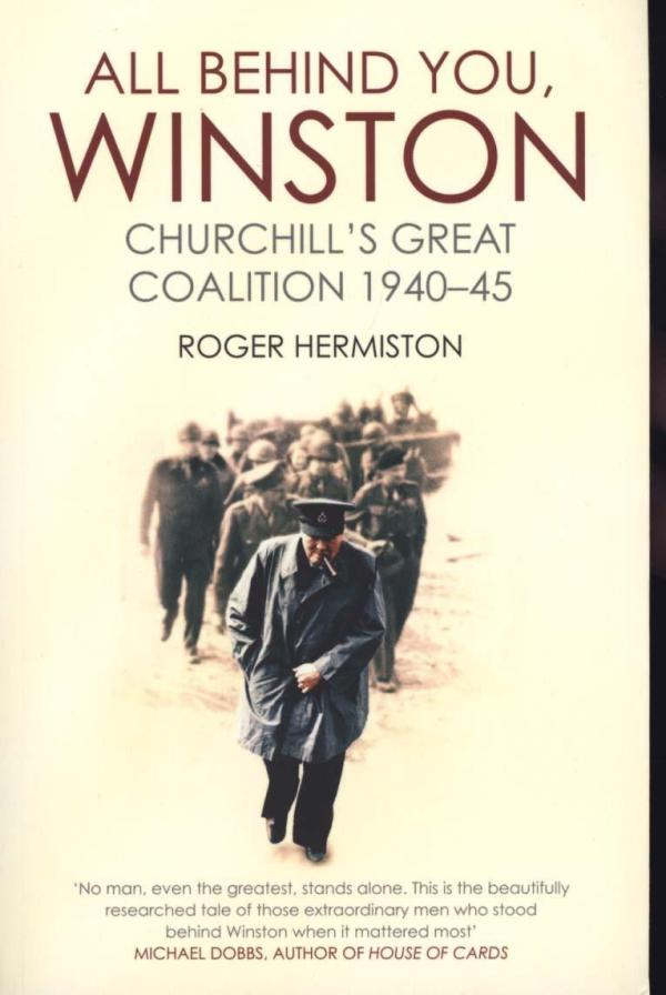 All Behind You Winston by Roger Hermiston