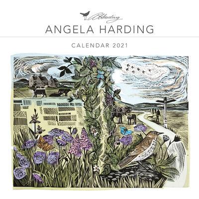 Angela Harding Wall Calendar 2021 (Art Calendar) by
