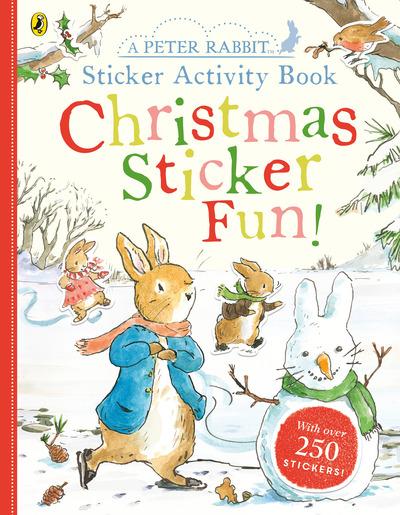 Peter Rabbit Christmas Fun Sticker Activity Book by Beatrix Potter