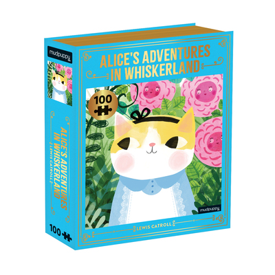 Alice's Adventures in Whiskerland Bookish Cats 100 Piece Puzzle by  Mudpuppy