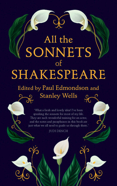 All the Sonnets of Shakespeare (ed. Edmondson and Wells) by William Shakespeare