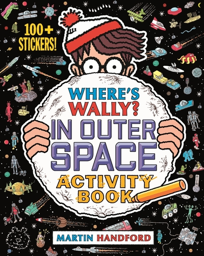 Wheres Wally In Outer Space by Martin Handford