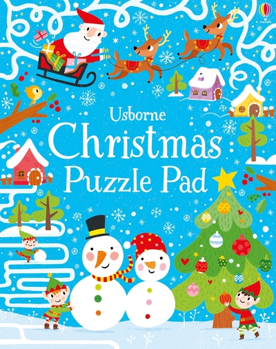 Christmas Puzzles Pad by Simon Tudhope
