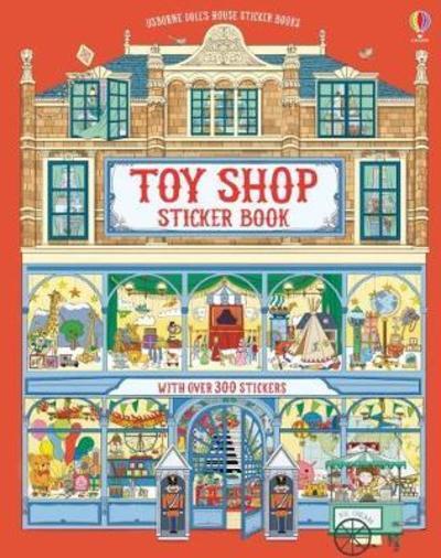 Dolls House Sticker Book Toyshop by Struan Reid