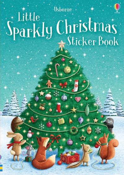 Sparkly Christmas Sticker Book by Fiona Patchett