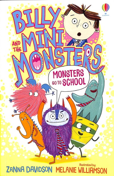 Monsters go to School by Zanna Davidson