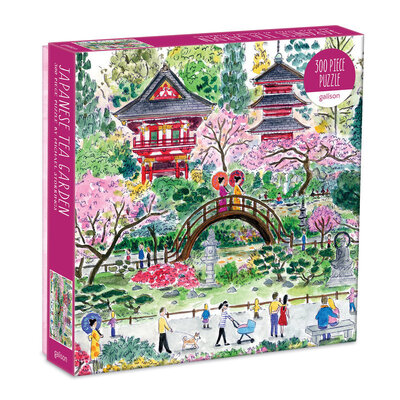 Michael Storrings Japanese Tea Garden 300 Piece Puzzle by