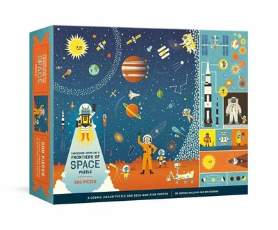 Professor Astro Cat's Frontiers of Space 500-Piece Puzzle: Cosmic Jigsaw Puzzle  by Dr. Dominic Walliman