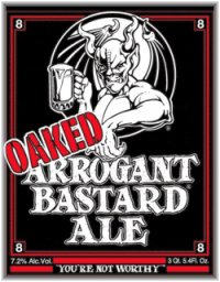 Oaked beer = oaked ass