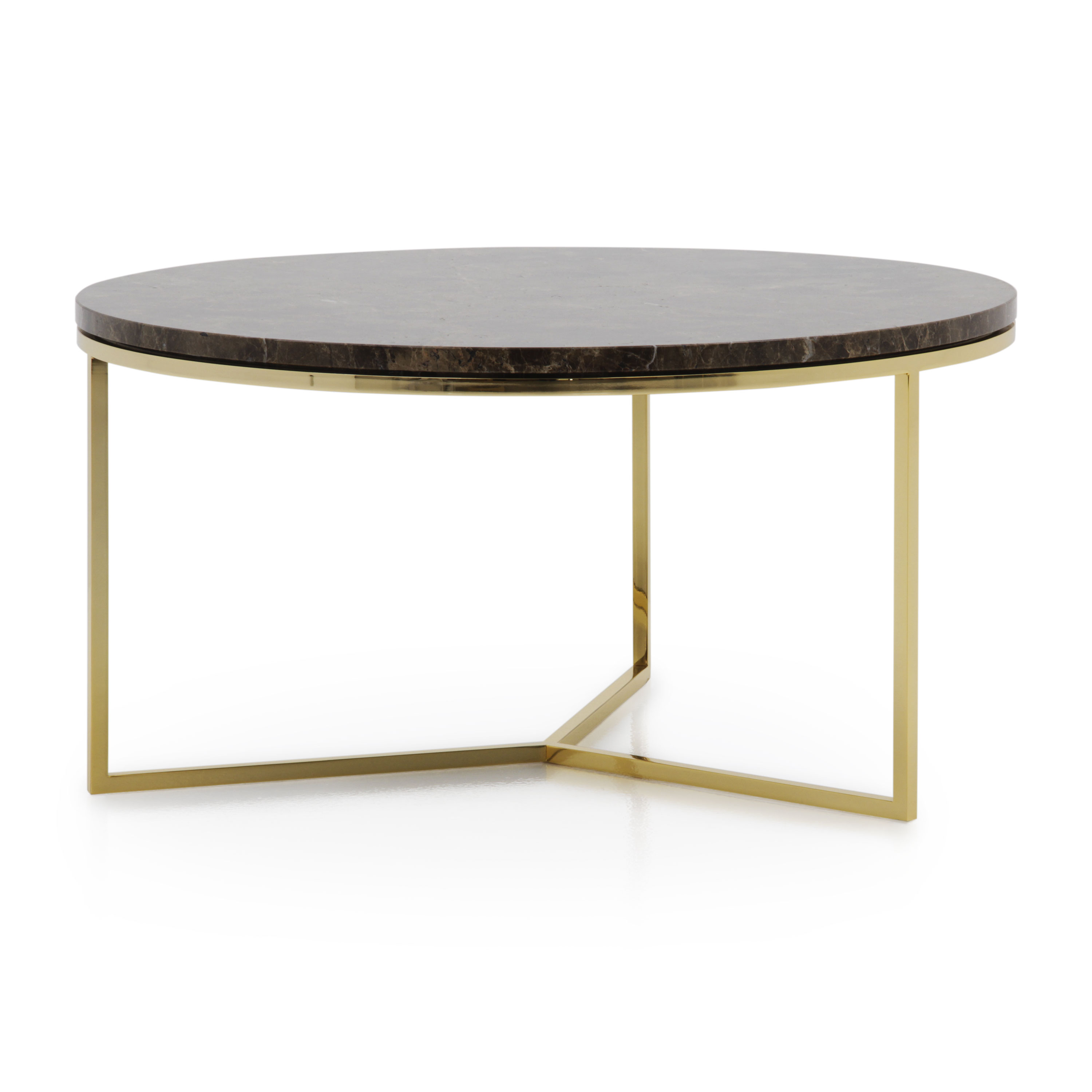 modern style marble top coffee table