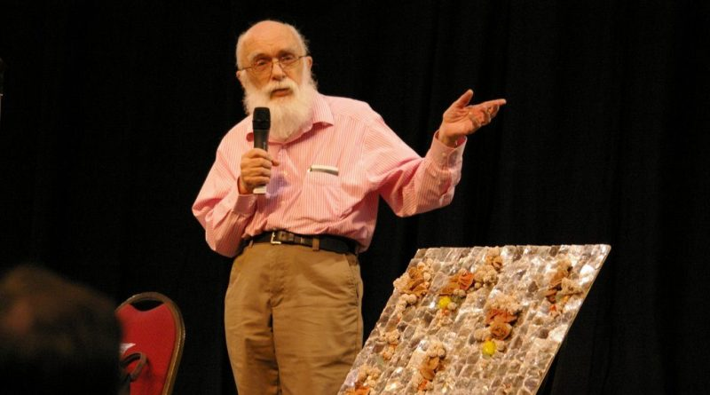 James Randi 2007 at Amazing Meeting