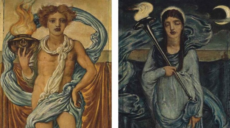 Simeon Solomon Day and Night