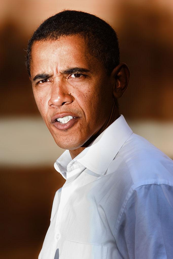 Obama Portrait 2006