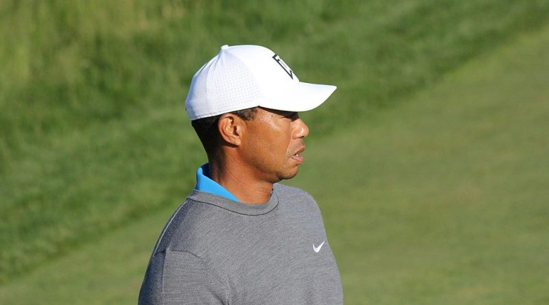 Tiger Wood 2018 US Open