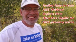 Finding Time to Train FREE Webinar - Register Fast. Only 25 attendees, eligible for Free Giveaways