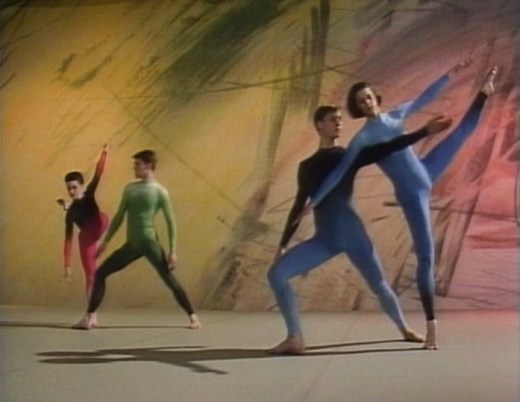 Merce Cunningham Points in Space Still