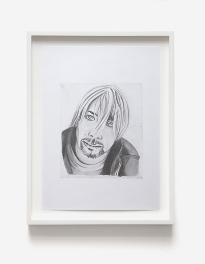 Graham Dolphin, Fan Drawings (Kurt Cobain), Detail 3
