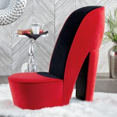 Red Heel Chair Imaginarium Table And 2 Set High Seventh Avenue