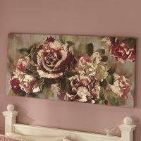 Metallic Roses Wall Art   Seventh Avenue
