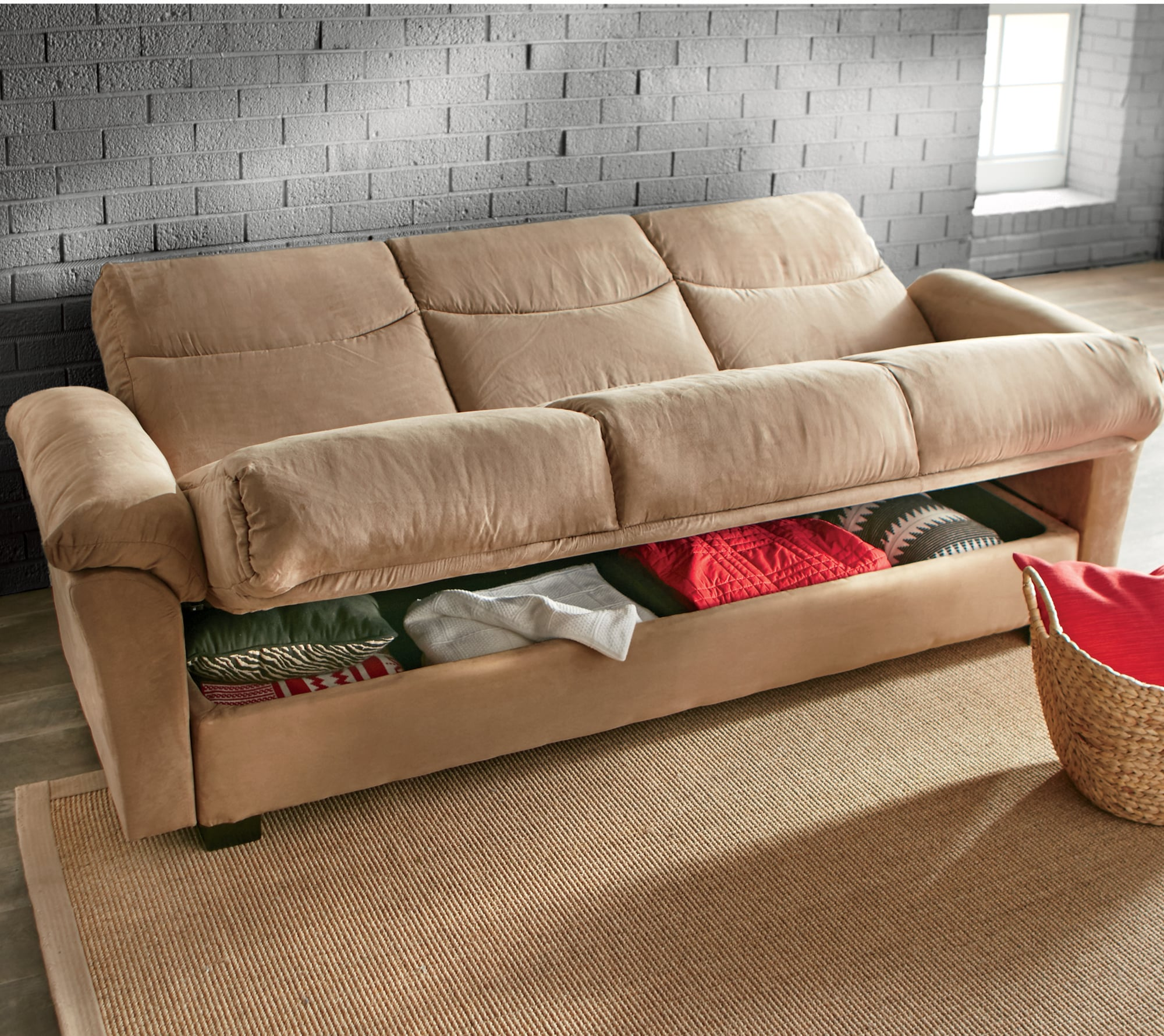 large plush sectional sofa home decorators sleeper improved super seventh avenue