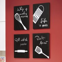 4-Piece Kitchen Canvas Wall Art Set | Seventh Avenue
