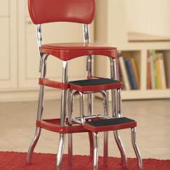 Chair Stools Height White Spandex Covers For Sale Counter Retro Step Stool Seventh Avenue