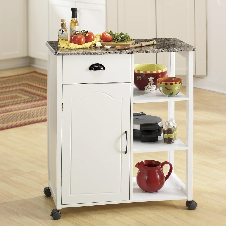 marble top kitchen cart cabinet pictures faux seventh avenue