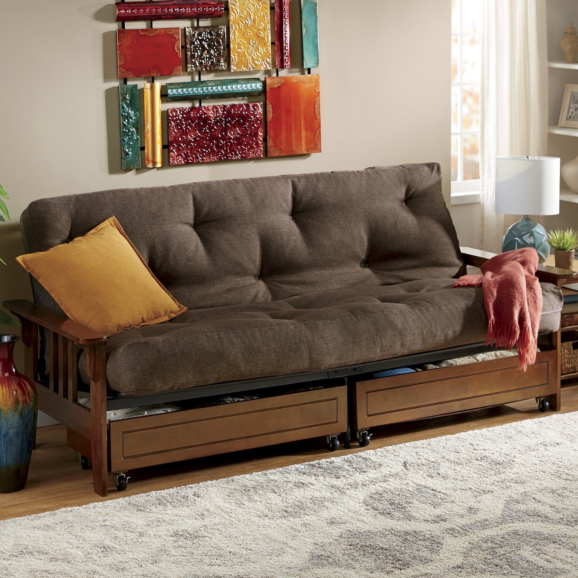beds for living room french country pictures sofas futons sofa futon seventh avenue mission storage and mattress