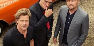 LLeonardo DiCaprio, Brad Pitt y Quentin Tarantino