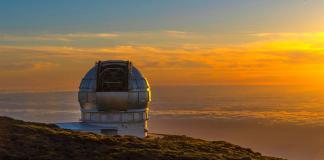 Vista del mayor telescopio del mundo, el Grantecan, en Santa Cruz de Tenerife. EFE/ Miguel Calero/Archivo