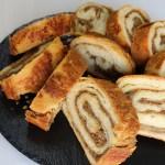 Haşhaşlı Cevizli Rulo Çörek
