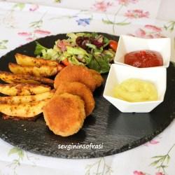 Tavuk Koftesi & Nugget & Baharatli Patates