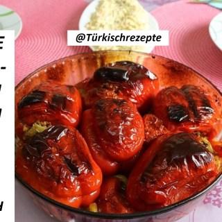 Gefüllte Paprikaschoten aus dem Ofen