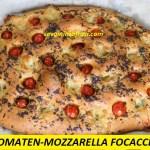 Tomaten-Mozzarella Focaccia