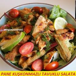 Pane Kuşkonmazlı Tavuklu Salata