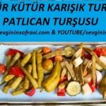 Patlıcan Turşusu & Karışık Turşu